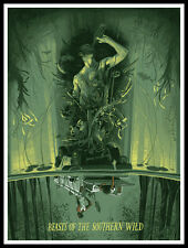 BEASTS OF THE SOUTHERN WILD By RICH KELLY Print ACADEMY AWARDS Quvenzhane Wallis