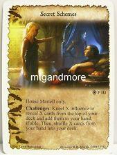 A Game of thrones lunaires - 1x secret schemes #111 - a Hidden Agenda
