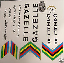 Gazelle set of decals vintage