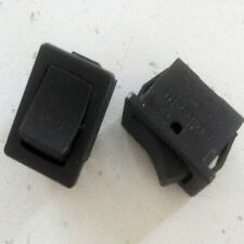 2pcs Solteam Momentary N/O Rocker Switch AC 120V-230V 10A 19mmx13mm Snap-IN Type