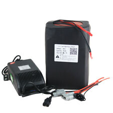 48v30Ah Lithium Li-ion Battery Pack For E-Bike 1500W Motor Scooter  5A Charger