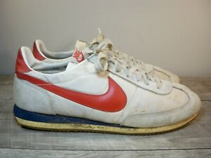 Vintage 80's 1982 Nike 820305 Men's Tennis Trainers Sneakers Kicks Shoes Size 11