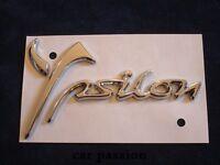 SCRITTA STEMMA LANCIA YPSILON Y 2011 ORIGINALE POSTERIORE logo emblem sign
