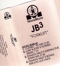 JB3 'Forklift', NovaMute rec. pre-release cassette : Luke Slater,Damon Wild '93