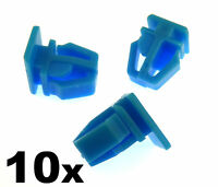 10x Honda Plastic Trim Clips- For exterior door mouldings, side trim & bumpstrip