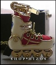 RARE AUTHENTIC JUICY COUTURE 2010 VINTAGE ROLLERBLADE SKATE CHARM NIB FREE SHIP