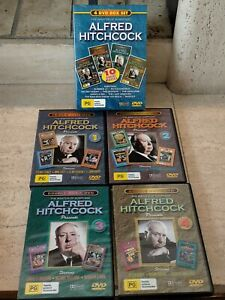 ALFRED HITCHCOCK -THE MASTER OF SUSPENSE - 4 DVD BOX SET 10 MOVIES - NEW