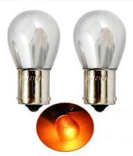 Ampoules BA15S Chrome P21W ORANGE 1156 pour Voiture Clignotants Utilitaires 2PCS