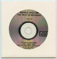 Ronnie Spector She Talks to Rainbows White Sleeve Promotional Promo CD