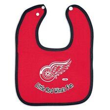 Detroit Red Wings Little Fan Baby Bib