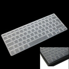 UK EU Silicone Keyboard Cover Skin for Macbook Pro 13 15 17 Protective Clear vfg