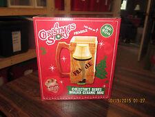 A Christmas Story Leg Lamp Molded Ceramic Mug Collectors Series Holds 40 oz