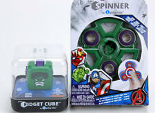 Zuru Antsy Lab Fidget Cube & Spinner Set INCREDIBLE HULK NEW & Sealed