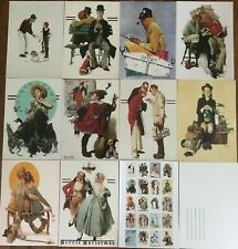 20 classic Norman Rockwell art images as quality postcards