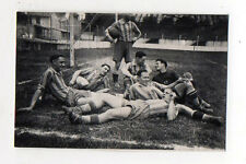 PHOTO ANCIENNE Snapshot Marseille SPORT FOOT Ballon 1942 Stade Fernand Buisson