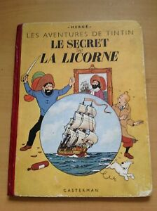 B04 . TINTIN Le Secret de la Licorne
