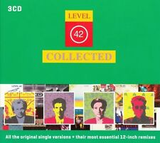 Level 42  - Collected   3 cd box   New   ( with extra remixes)