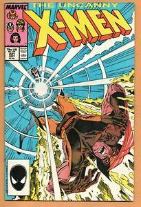Uncanny X-MEN 221 Marvel comics Volume 1 - 1987 - 1st App of MISTER SINISTER