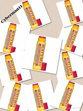 10 xBURT'S BEES REPLENISHING LIP BALM WITH POMEGRANATE