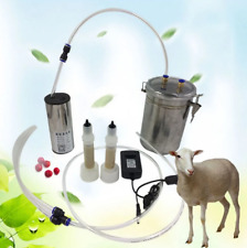 2L Electric Pulse Milking Machine Tools with Adjustable Suction Goat Sheep Milk