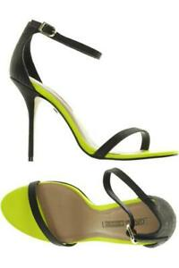 Buffalo Sandale Damen Sommerschuhe Sandalette Gr. DE 40 Leder schwarz #50c6d0e