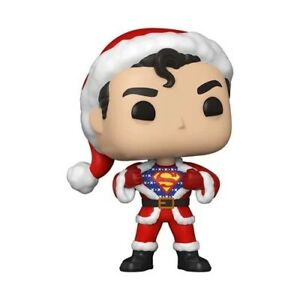 Funko Pop! Heroes: DC Holiday Superman with Sweater W/ Protector