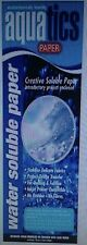 Water Soluble Paper-Crazy Felt-Patchwork-Embroidery-Soap Making-Crafts-Printing