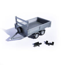 3D PRINTED TRAILER & TOWBARS FOR OO GAUGE MODEL RAILWAY 1:76 SCALE AX091-OO