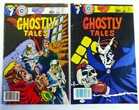 Charlton GHOSTLY TALES (1979) #136 & 152 Bronze Age HORROR Lot VG/FN Ships FREE!