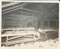 WWII 1944-5 USAAF airman's Italy Photo Mess hall 3rd Christmas overseas
