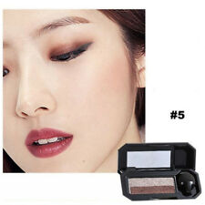 Dual Color Eyeshadow Makeup Palette Glitter Eye Shadow Shade Cosmetic 5