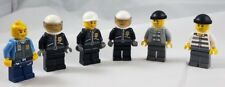 Lego City Police Prisoner Minifigure Lot 6 Benny Gold Tooth Officer Cop