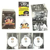 The Three Stooges 75th Anniversary Edition (DVD, 2008, 3 Disc Set) TIN
