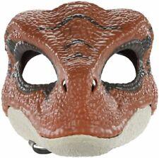 Jurassic World Dinosaur Velociraptor Mask with Opening Jaw Halloween Mask