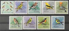 - Polen Poland 1966 Mi. Nr. 1718-1726 ** postfrisch MNH Vögel birds