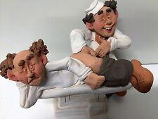 Proctologist Clay Sculpture Handmade Item by Israeli Artist Denis Filster