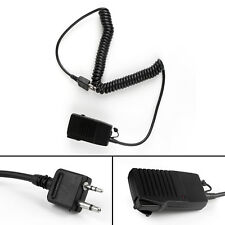 1x HM46 Angle Type Handheld Speaker SP/Microphone For ICOM IC-V8/V82/V85/V80 US