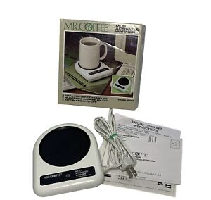 Mr Coffee Activated Mug Warmer MW-1 Soup Beverage 23 Watts Auto Shut-Off TESTED