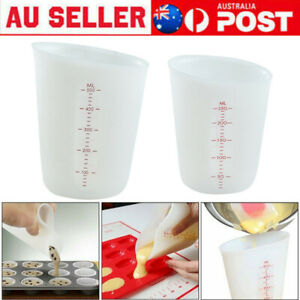 250/500ml Silicone Measuring Cup Kitchen Tool Pinch Pour Cake Baking Mug
