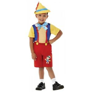 Puppet Boy Pinocchio costume Costume Halloween Fancy Dress