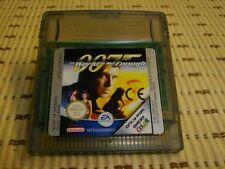 James Bond Die Welt ist nicht genug für GameBoy Color