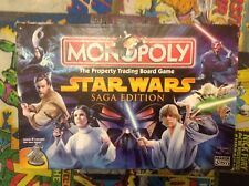 Monopoly Game Star Wars Saga Edition - Board Game Complete