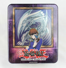 Blue Eyes White Dragon Kaiba Collectors Tin Box Yu-Gi-Oh 2003  EMPTY  LOB  RARE