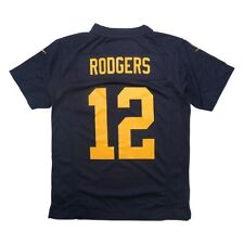 Aaron Rodgers Nike Green Bay Packers Game Day Youth Jersey XL *MINOR FLAWS