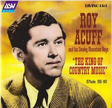Roy Acuff & His Smoky Mountain Boys-King Of Country Music-CD-Living Era-AJA 5244