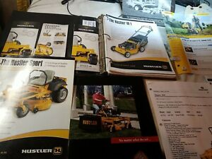 Vintage Brochure, Cub Cadets & Power Mowers, Hustler Compact Dixie Chopper