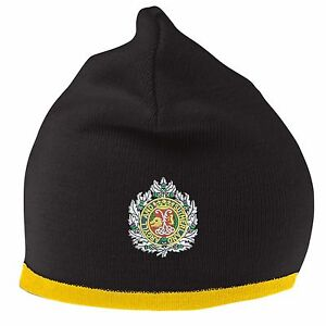 Argyll and Sutherland Beanie Hat with Embroidered Logo