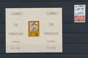 LO39368 Paraguay 1962 scouts homage imperf sheet MNH cv 200 EUR