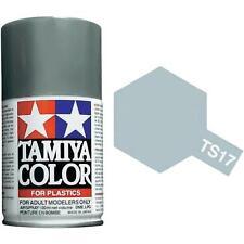 Tamiya TS-17 Gloss Aluminum Spray Paint Can 3 oz 100ml 85017 Mid America Raceway