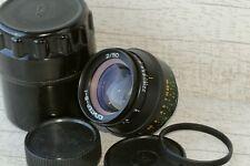 Jupiter-8-1 Rare Lens f2 50mm Black Carl Zeiss Sonar Leica Ussr M39 Kmz
